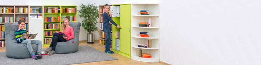 regalsysteme fachregale f r schulen online bestellen seite 5. Black Bedroom Furniture Sets. Home Design Ideas