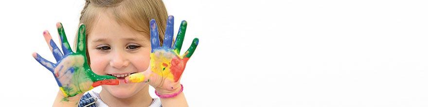 Fingerfarben  Temperafarben