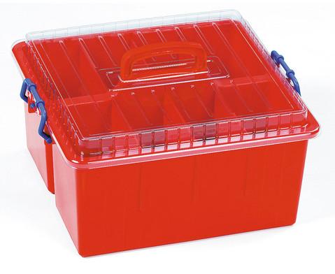 Betzold Sortierbox mit Deckel und Griff