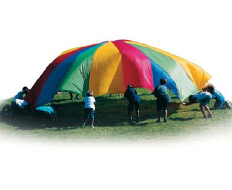Fallschirm-Schwungtuch rechteckig-2