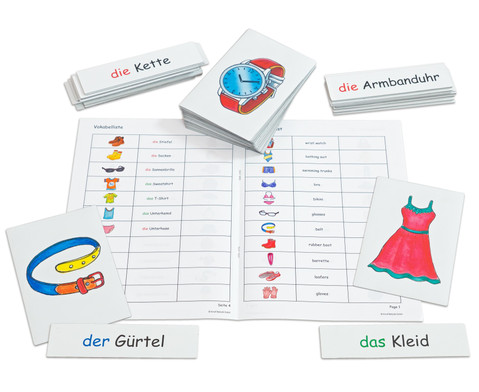 Betzold Flash Cards - Kleidung