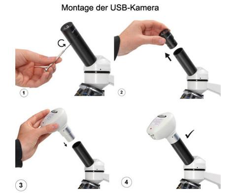 USB-Digital-Kamera fuer Mikroskope 640 x 480 Pixel-2