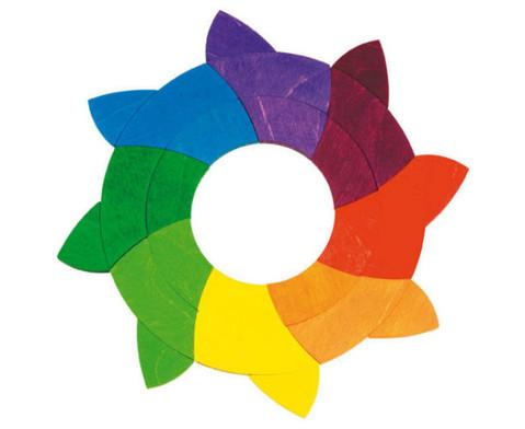 Geomerisches Puzzle Farbkreis Goethe-2