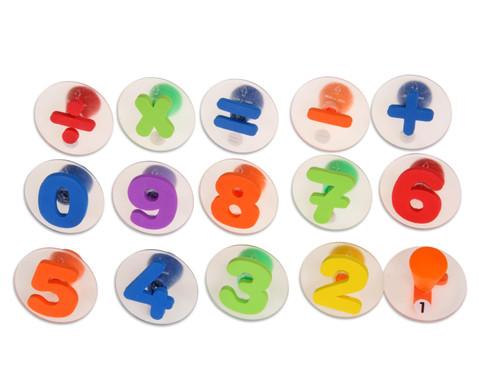 Riesen-Zahlen-Stempel 15 Stueck