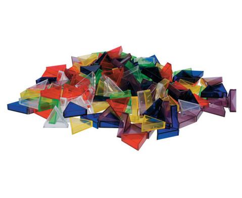 Transparente ECKO-Legesteine kleine Dreiecke-6