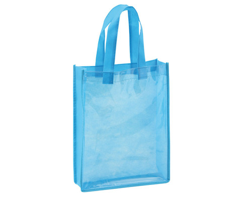 Blaue Tasche A4 Hochformat