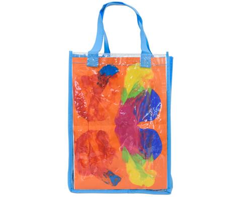 Kunststofftasche mit Einschub 3er-Set-4