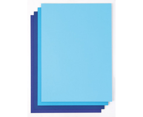 Farb-Harmonie-Set mit 40 Bogen 300 g-m-2