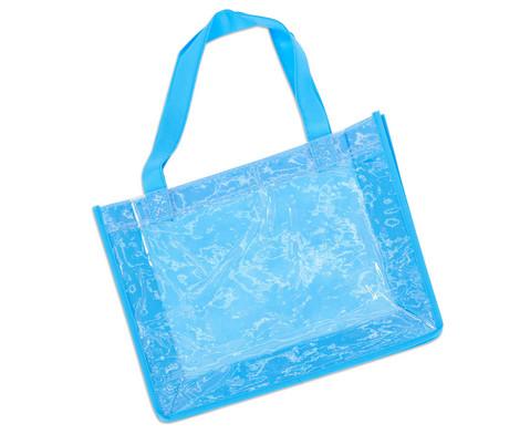 Tasche A4 Querformat blau