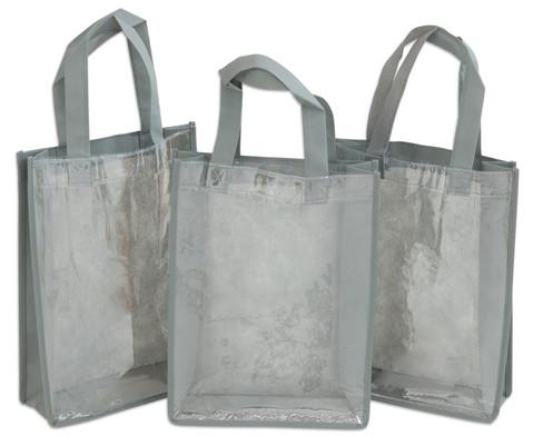Tasche A4 Hochformat grau