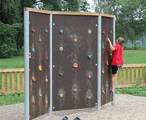 Free-Climbing-Wand Dreifache Wand beidseitig-4