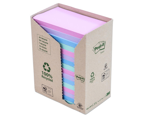 Post-it Recycling-Notes Tower rechteckig
