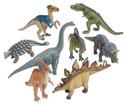Dinosaurier Deluxe Tiere 8-tlg Set-1