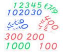 Grosse Zahlenkarten 1 - 1000-8