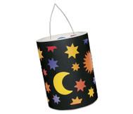 Sonne-Mond-Sterne-Laternen-Zuschnitte, 10 Stück
