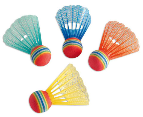 Badminton Ball-Set Soft 4 Stueck
