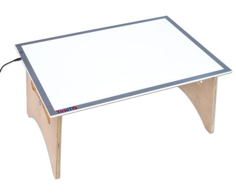 Set Grosser Leuchttisch inkl Boden-Klapptisch