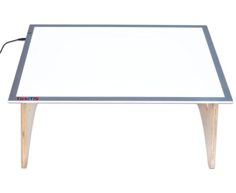 Set Grosser Lichttisch inkl Boden-Klapptisch-5