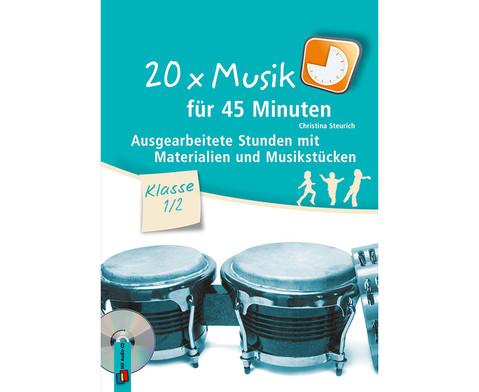20x Musik fuer 45 Minuten - Klasse 1-2