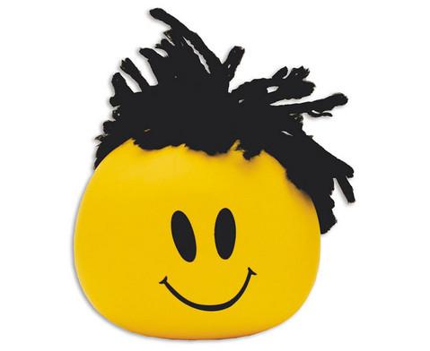 Knetball mit Frisur-1