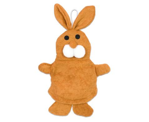 Waschhandschuh Hase-1