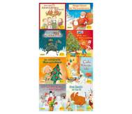 Morgen kommt der Weihnachtsmann, 8 Pixi Bücher