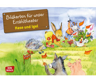 Bildkarten – Hase und Igel