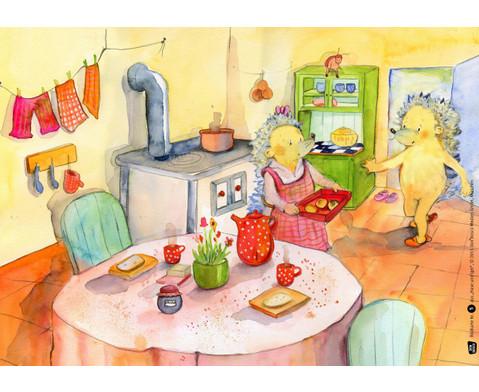 Bildkarten  Hase und Igel-4