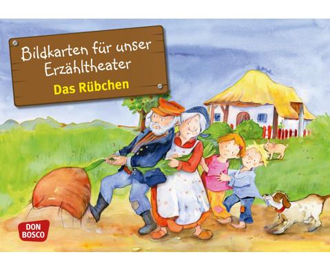 Bildkarten Das Ruebchen