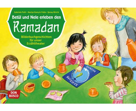 Bildkarten  Betuel und Nele erleben den Ramadan