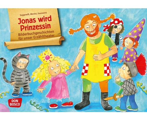 Bildkarten  Jonas wird Prinzessin-1