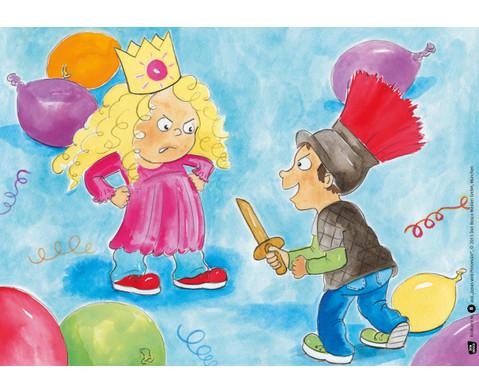 Bildkarten  Jonas wird Prinzessin-2