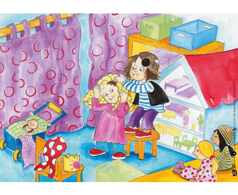 Bildkarten  Jonas wird Prinzessin-4