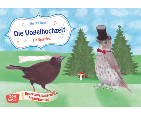 Bildkarten  Die Vogelhochzeit-1