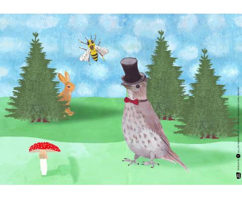 Bildkarten Die Vogelhochzeit-2