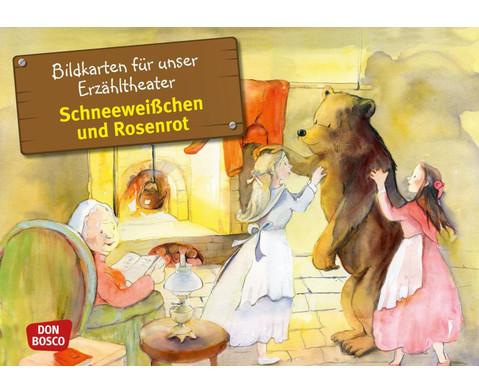 Bildkarten  Schneeweisschen und Rosenrot-1