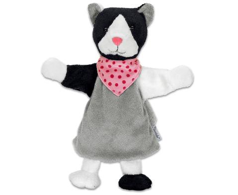 Handpuppe Katze-1
