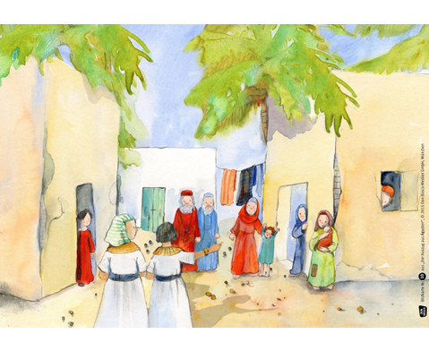 Bildkarten Der Auszug aus AEgypten-4