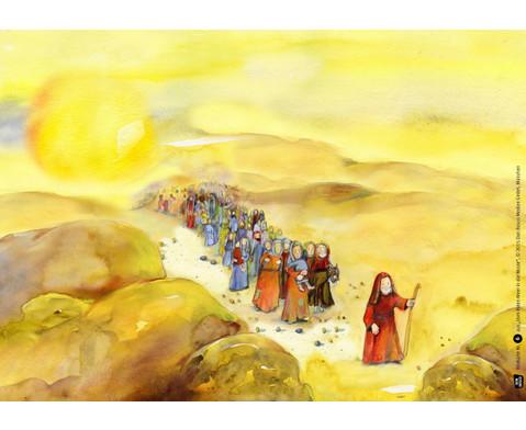 Bildkarten Vom Roten Meer in die Wueste-2