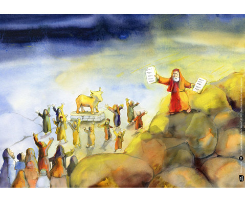 Bildkarten Vom Roten Meer in die Wueste-4