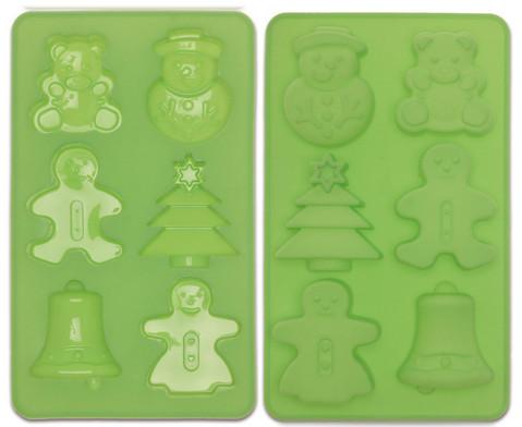 Weihnachtskuchen Silikonform-3