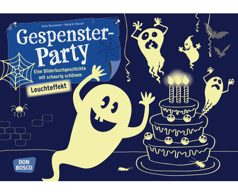 Gespensterparty - Bildkarten Kamishibai