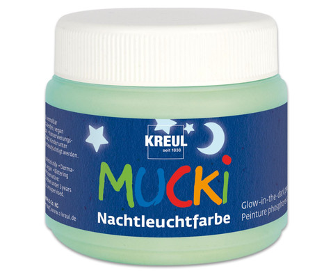 MUCKI Nachtleuchtfarbe 150 ml
