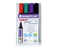 Flipchart-Marker, 4 Farben im Etui