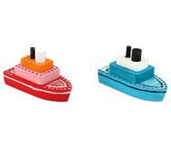 Bastelset Holzboote, 10 Stück