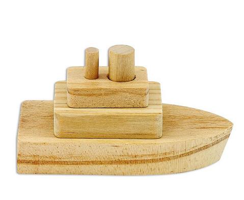 Bastelset Holzboote 10 Stueck-2