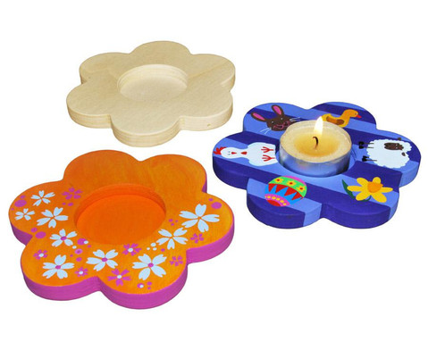 Teelichthalter Blume 3er-Set-3
