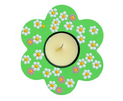 Teelichthalter Blume 3er Set-4