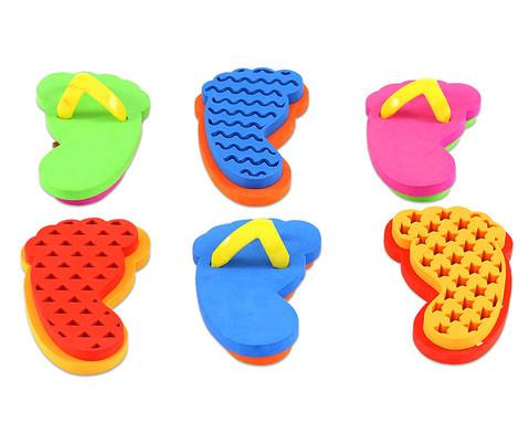 Sandalenstempel Formen 6er-Set-1