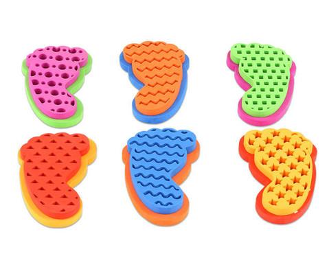Sandalenstempel Formen 6er-Set-2